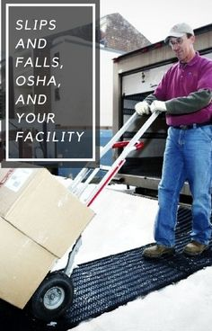 For those needing a refresher, here are the basics about the Occupational Safety and Health Administration. Business Grants, Small Business Resources, Facility Management, Slip And Fall, Safety, Small Businesses, Health, Snow, Security Guard
