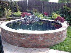 small fish pond landscape | Garden Pond | Clearwater Ponds & Aquariums | Pond & Aquarium ...