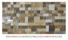 REVESTIMIENTO 31X60 INDO MARRON