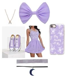 """""""Dajian"""" by jaydahrich ❤ liked on Polyvore featuring beauty, Bony Levy, Casetify and Converse"""
