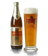 Krusovice Imperial a good Czech lager easy to drink, maybe not enough flavor.  Score 6/10 5%