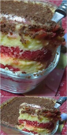 Zuppa inglese con pan di spagna #zuppainglese #pandispagna #ricettegustose