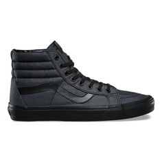 044e2cd7fa Mono Chambray SK8-Hi Reissue. Black High Top ShoesMens ...