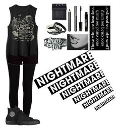"""""""Follow my other account @XXband-loverXX"""" by punk-rock-dreamer ❤ liked on Polyvore featuring Burberry, NARS Cosmetics, Lord & Berry, Pieces, rag & bone, Converse, xO Design, women's clothing, women's fashion and women"""