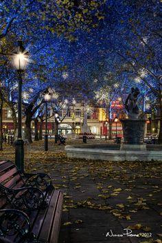 Sloane Square in London