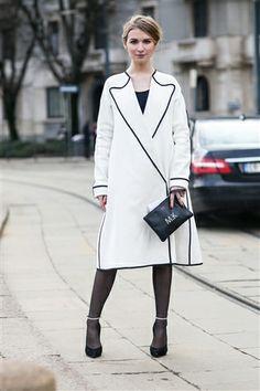 Milan Fashion Week AW'14 - Street Style, Day 2 #MFW #streetstyle