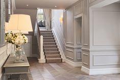 K-Club Private Project - Ventura Design Decor Interior Design, Interior Decorating, Decorating Ideas, Decor Ideas, Ventura Design, Hallway Inspiration, Hallway Designs, Hallway Ideas, Staircase Design