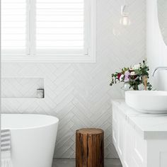 Small grey & white bathroom 2019 Home Design Trends by Rachel Bernhardt, Portland Realtor 2019 Home Design Trends by Rachel Bernhardt, Portland Realtor Small grey & white bathroom White Bathroom Tiles, Laundry In Bathroom, Bathroom Renos, Bathroom Flooring, Bathroom Renovations, Modern Bathroom, Small Bathroom, Master Bathroom, Bathroom Ideas
