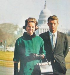 United States Attorney General Mr~~Robert Francis Kennedy (November 20, 1925 – June 6, 1968) Wife Mrs Ethel Skakel Kennedy (born April 11, 1928) is an American socialite. She is also the widow of Senator Robert F. Kennedy and a prominent member of the Kennedy family. ♡❤❤❤♡❤♡❤❤❤♡  http://en.wikipedia.org/wiki/Robert_F._Kennedy  http://en.wikipedia.org/wiki/Ethel_Kennedy