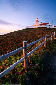 Sunset at Cabo da Roca Lighthouse, Sintra, Portugal by Joe Daniel Price on 500px