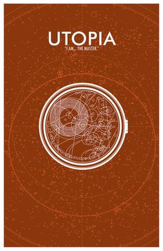 """11""""x17"""" modern design poster with art inspired by the """"Utopia"""" episode of Doctor Who. @azrealsky"""