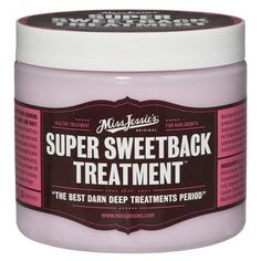 Miss Jessie Super Sweetback Treatment -  a great conditioner to add moisture to dry curls