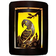 Parrot Candleholder