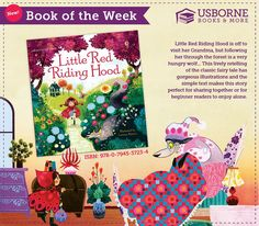 """Little Red Riding Hood https://y4963.myubam.com/p/5894/little-red-riding-hood Suggested Ages: 3 years and up """"This beautifully illustrated picture book retells the timeless classic of Little Red Riding Hood with simple text - sure to be treasured! Little Red Riding Hood is off to visit her Grandma, but following her through the forest is a very hungry wolf. Find out how she escapes the wolf 's greedy clutches in this lively retelling of the classic fairy tale."""""""