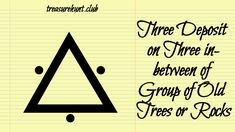Triangle sign with three dots in-between each corners. Tom Petty Quotes, Tom Petty Lyrics, Dot Symbol, Triangle Sign, Cute Braces Colors, Map Symbols, Sign Meaning, Old Trees, Electrical Tester