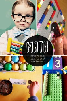 Here are some math activities for kids to help them learn to love math one problem at a time.