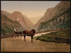 Hardanger Fjord, Norway by The Library of Congress, via Flickr