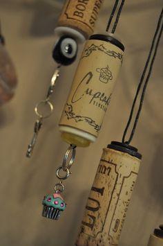 wine cork ornaments <3