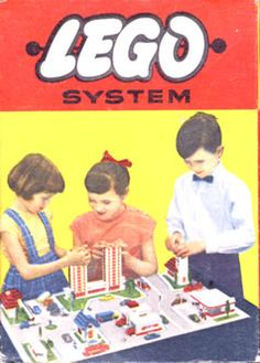 Life In The 1950s, Lego System, Vintage Lego, My Youth, Retro Art, Happy Family, Life Images, Toys, Legos