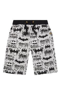 Primark - Grey Batman Jersey Shorts