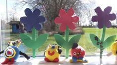 Figurer af silkclay  (lavet af børn i O.kl.)