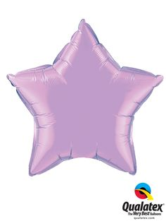 This Microfoil star balloon in Pearl Lavender will  had a glamorous touch to your decoration. #coloroftheyear #qualatex #star #balloon