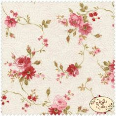 Sarah's Collection from Red Rooster md tossed rose floral