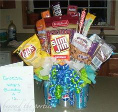Non candy easter basket ideas basket ideas easter baskets and this would be my boys idea of a perfect easter basket you are never too old for an easter basket i always have made wes an easter basket this year he may negle Image collections