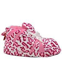 9897c5ec5954d3  27.99 - Happy Feet 1089-2 - Snooki s Pink Leopard Print - Medium Snooki  Slippers