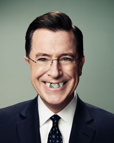 Stephen Colbert by Peter Yang