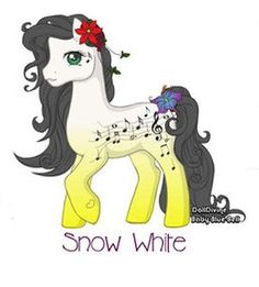 My Little Pony: Snow White by Morgwaine