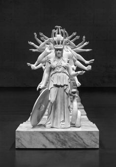 archatlas: A Sculpture that Fuses Western Gods and Heroes with...