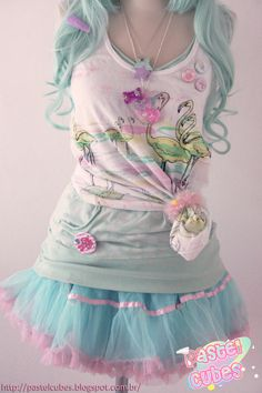 Fairy Kei/Pop Kei ♡ ♥ ロリータ, Deco Lolita, Loli, Fairy Kei, Pastel, Kawaii Fashion, Cute, Sweet Lolita, Pop Kei ♥ ♡
