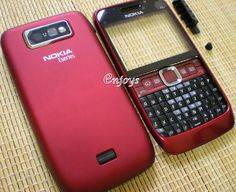 High Quality Faceplate Body Panel Housing Fascia For Nokia E63 Red