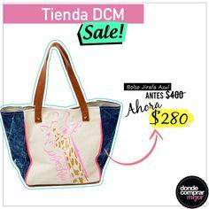 Para que termines el día de la mejor manera: ¡Sale en Tienda DCM! Encontrá este bolso en www.tiendadcm.com/venta/Bolso+Jirafa+Azul/76374