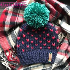 A personal favorite from my Etsy shop https://www.etsy.com/listing/483209852/hand-knit-toddler-hat-chunky-knitted