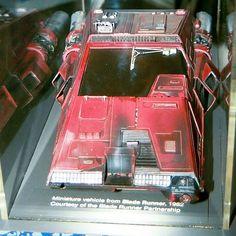 """Blade Runner - screen used  """"Alfa Romeo"""" Spinner Model"""