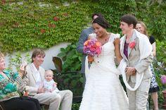 A Franco-American fairytale wedding: Kpoené + Anne - Equally Wed