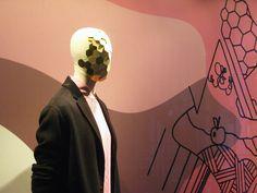 PRINTEMPS, Instinct de Mode en collaboration avec le collectif d'artistes berlinois, Old Yellow. Printemps Homme. Paris www.printemps.com www.oldyellow.de photo: @DavidMolière