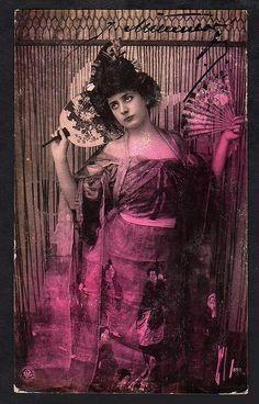 European girl dressed like geisha,1907 | Flickr - Photo Sharing!