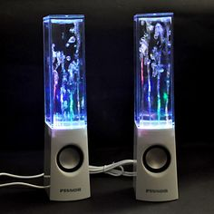 Dancing Water Speakers - Picture doesn't do them justice.  I love these!