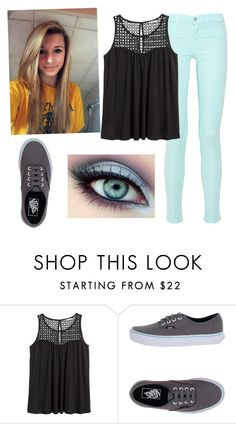 """""""Set 120."""" by lamsdell ❤ liked on Polyvore featuring H&M and Vans"""