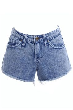denim shorts #ROMWE
