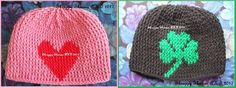Graph Beanies for My Daughter and Son-in-Law