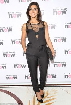 ITV's Lucy Verasamy wows in plunging black lace jumpsuit Itv Weather Girl, Weather Girl Lucy, Black Lace Jumpsuit, Juicy Lucy, Tv Girls, Curvy Models, Tv Presenters, New Girl, Sexy Women