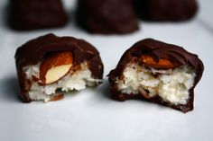 Make your own, healthy Almond Joys!