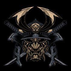 samurai fighting demon tattoo - Google Search