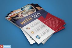 Check out Flat Seo Flyer by Nody4Design on Creative Market