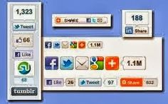 Marvellous Social Sharing Buttons Widgets For Blogger