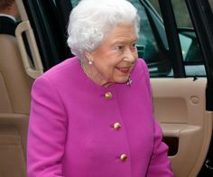 """After convalescing over the Christmas period with a """"heavy cold"""" we're thrilled to see Her Majesty looking so well."""
